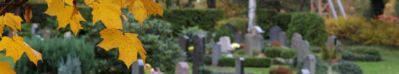 Trauerfeier und Bestattung